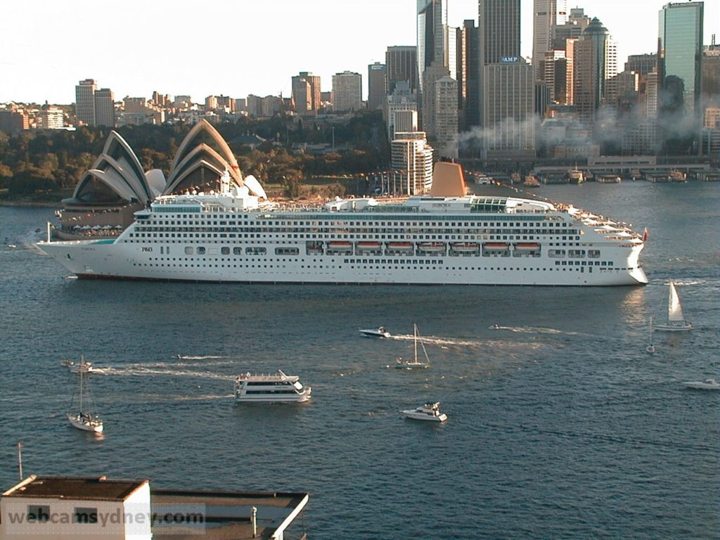 Cruise Ships In Sydney  Webcamsydney