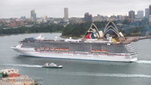 Carnival Spirit - based year round in Sydney and very popular