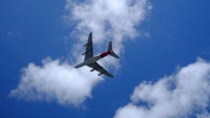 Qantas A380 flies low over Sydney Harbour