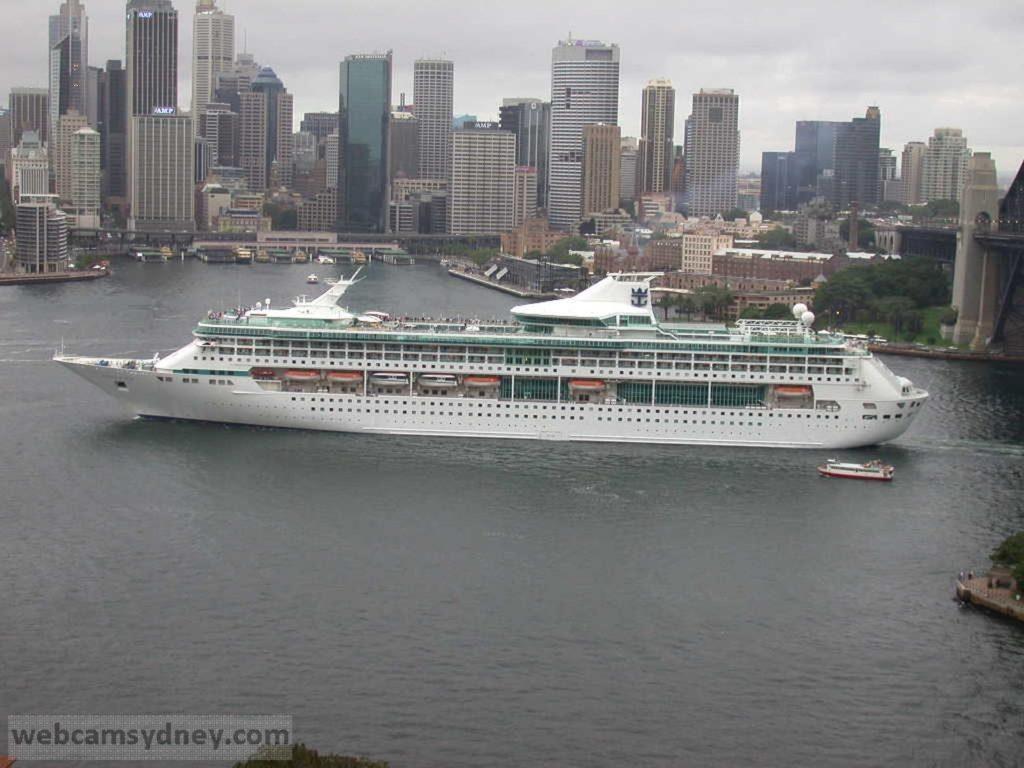 Cruise Ships In Sydney  Webcamsydney