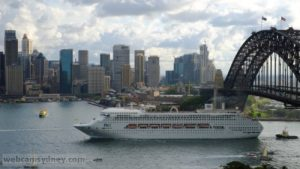 Pacific Jewel - based year round in Sydney - very popular