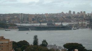 U.S. aircraft carrier September 2016